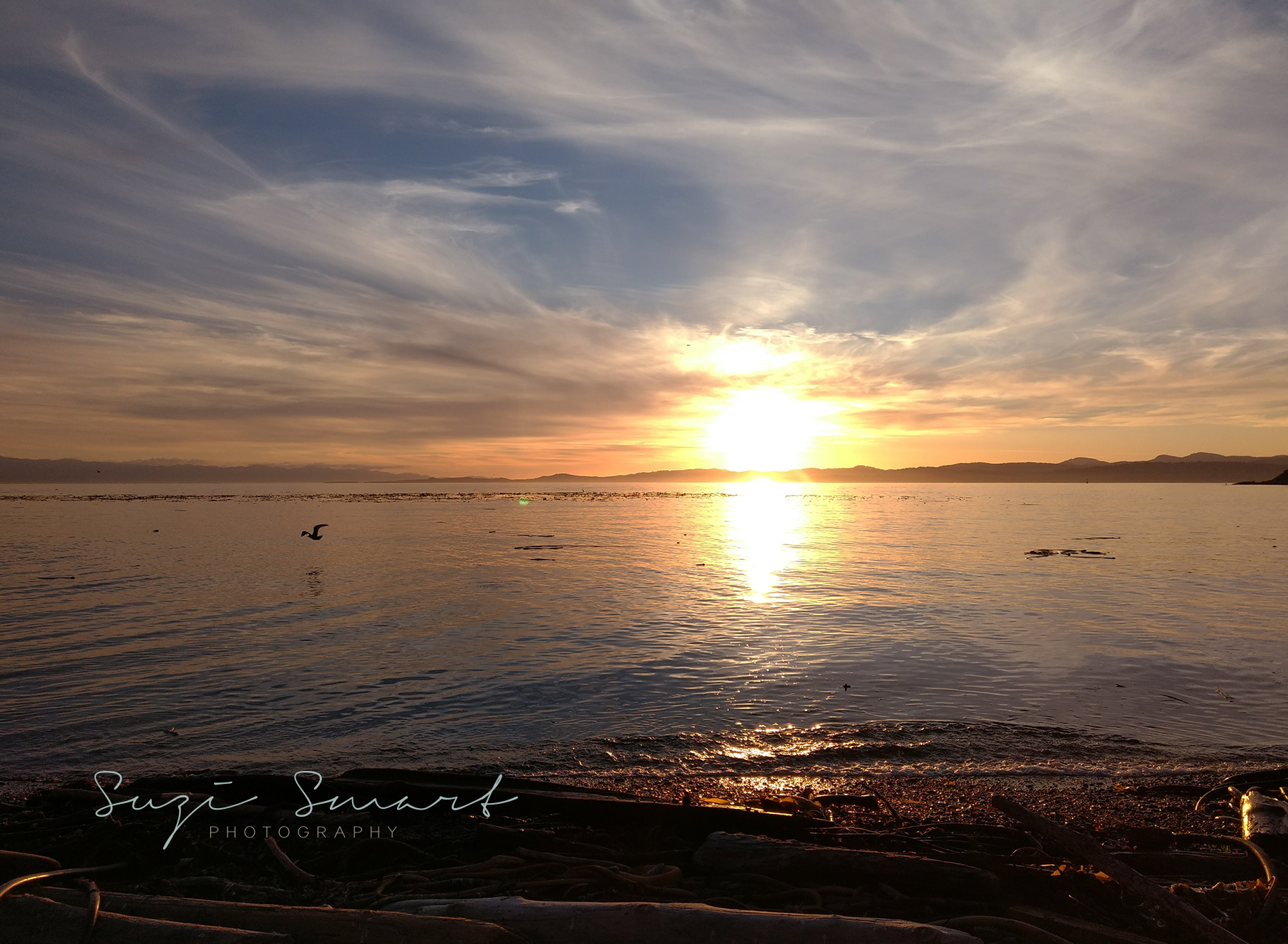 Sunset at Clover Point, Victoria, BC