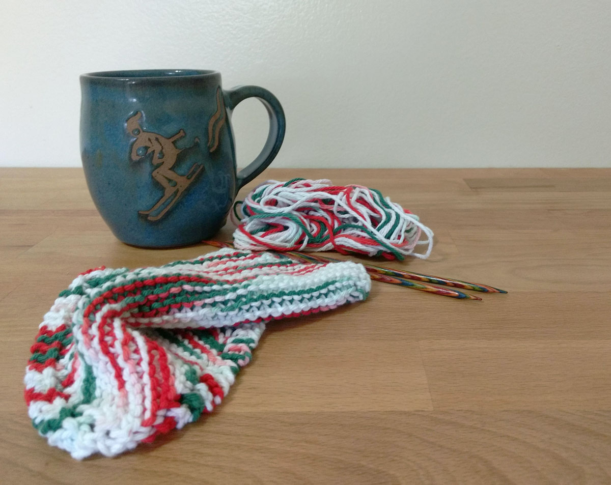 Christmas Dishcloth